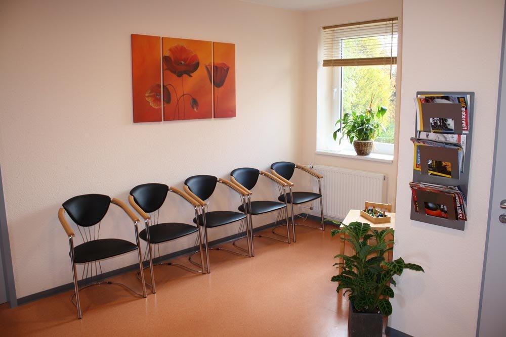 Ein weiterer Warteraum der Ergotherapiepraxis Brockhoff-Lindemann in Lingen